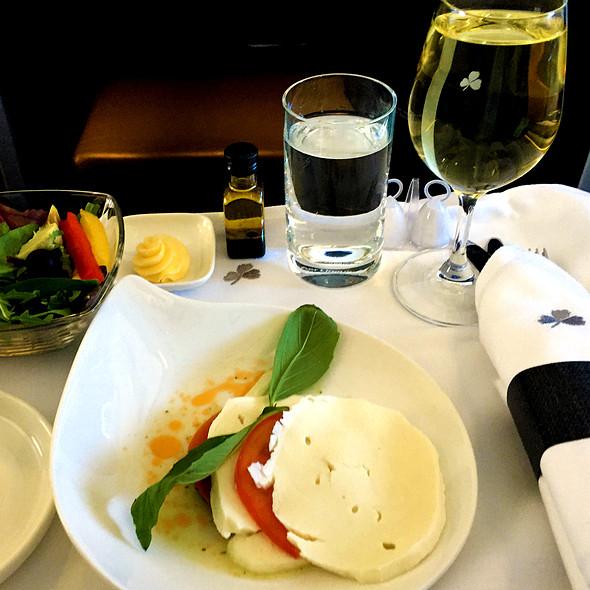 Insalata Caprese @ Aer Lingus Flight