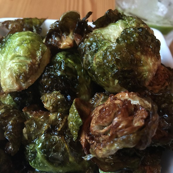 Crispy Brussel Sprouts @ The Urban Tap