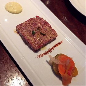 Beef Tartare - Restaurant R'evolution, New Orleans, LA