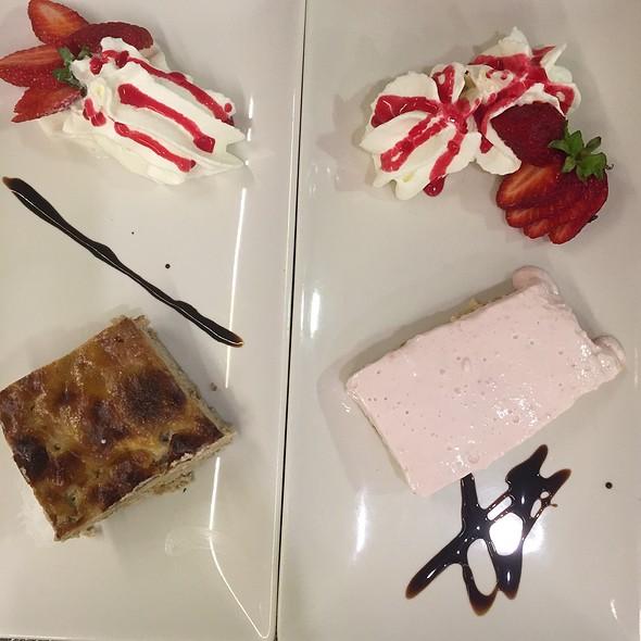 Pudding Y Tarta De Fresa