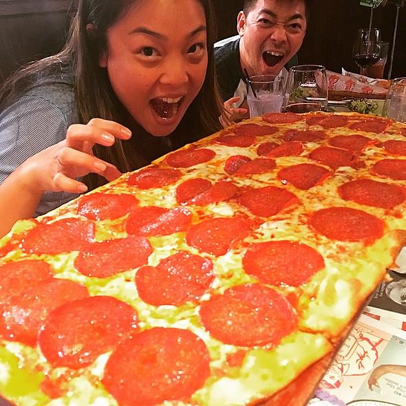 Pepperoni Pizza @ Bucca Di Beppo