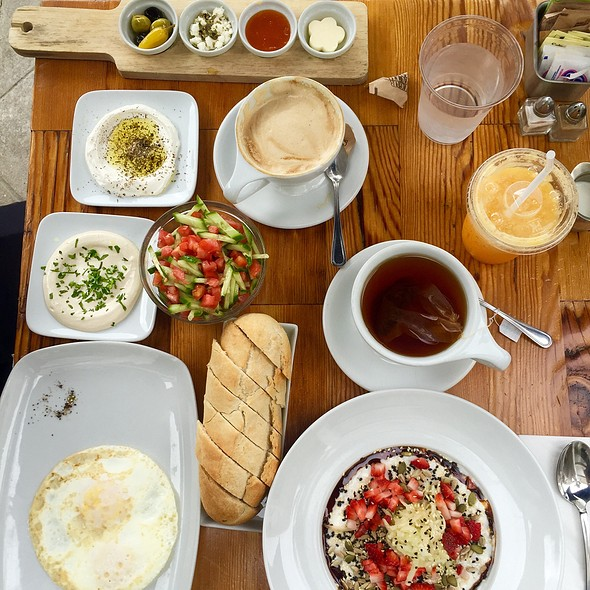 Israeli Breakfast @ Tarte Tatin Bakery