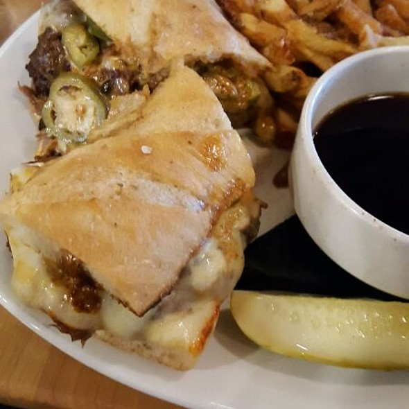 Jalapeno Beef Dip @ Bell's Brewery Inc: Eccentric Cafe