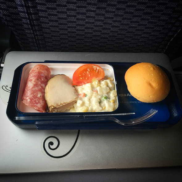 Meal (Of sorts...) @ CM407 (Guatemala to Panamá)