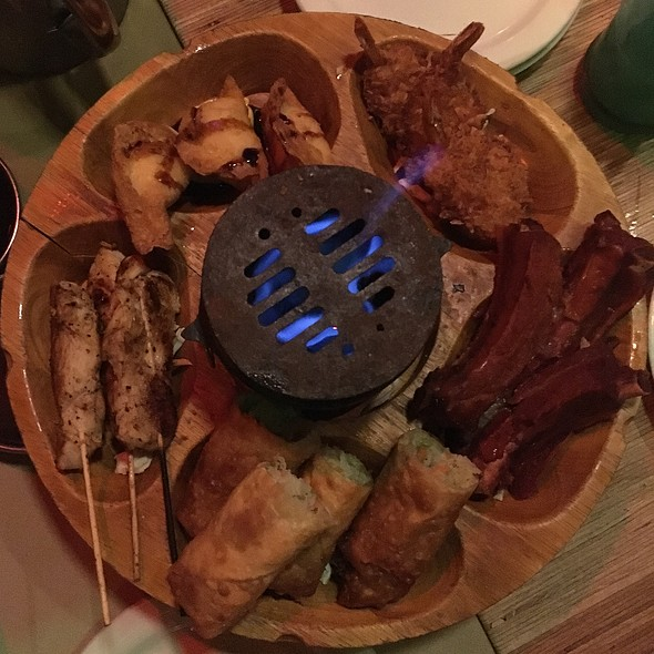 Pu Pu Platter @ The Tonga Hut