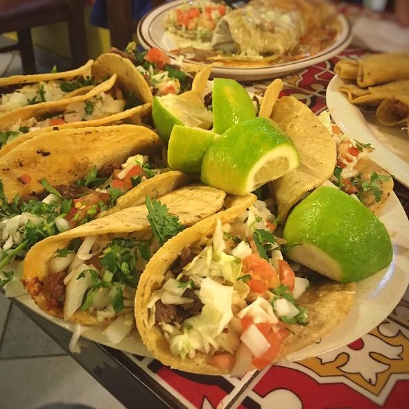 Taco Platter @ Tacos Mi Ranchito