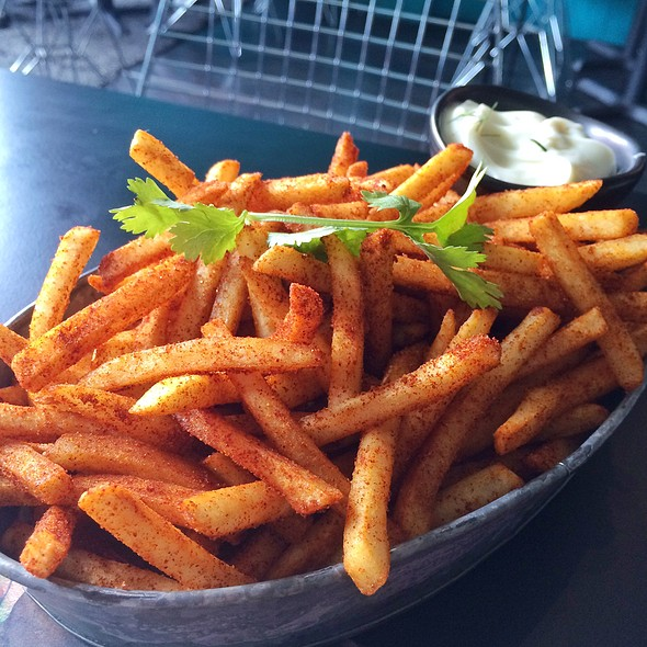 Asian Spiced Fries @ CREATURES