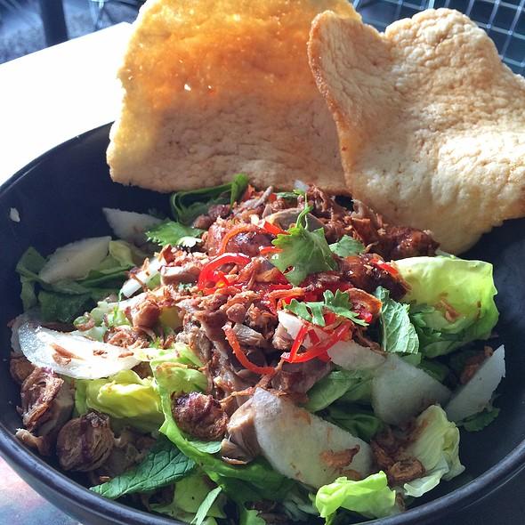 Pear & Duck Salad @ CREATURES