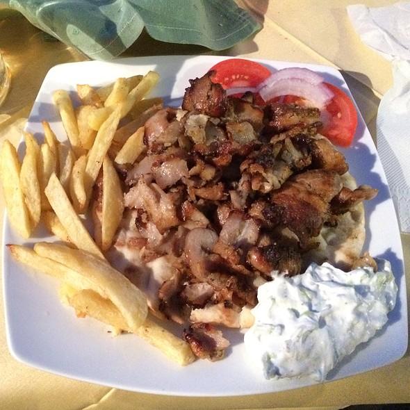 Pork Ghyros Plate @ Gatos