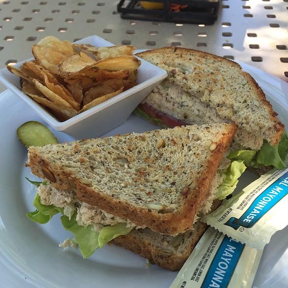 """Tuna """"Salad"""" Sandwich @ Just A Splash"""