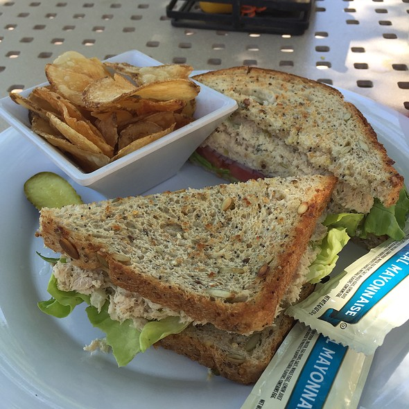 "Tuna ""Salad"" Sandwich @ Just A Splash"