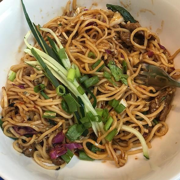 Korean Spicy Beef Noodles