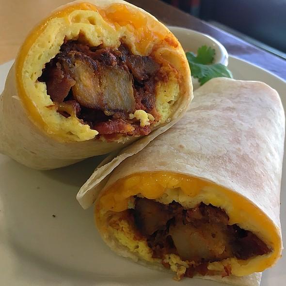 Breakfast Burrito @ Rise and Shine Cafe