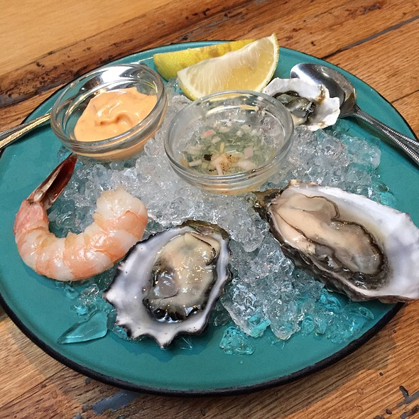 West Coast Oysters - Bar Agricole, San Francisco, CA