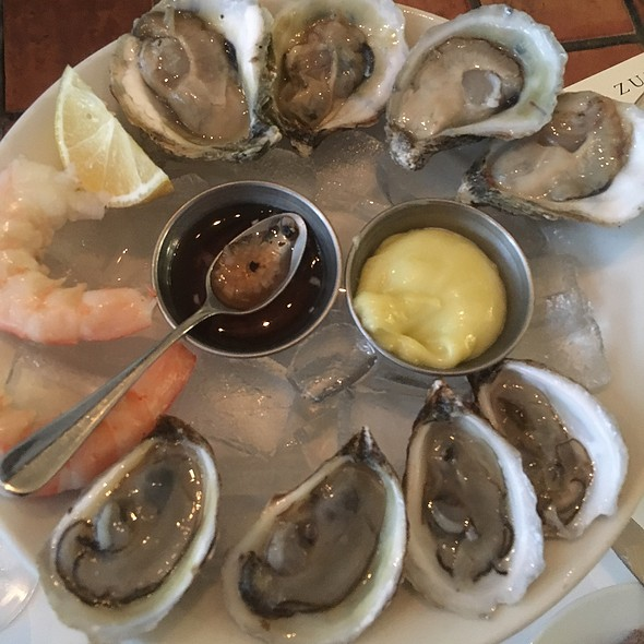 Oysters And Prawns