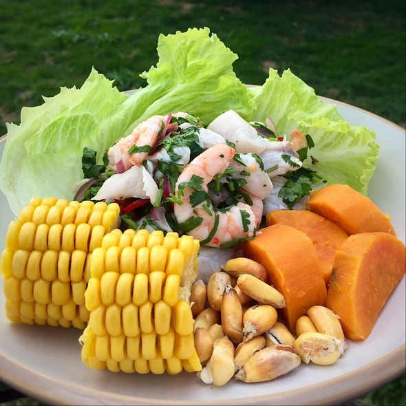 Ceviche Mixto @ Little Venice Country Park
