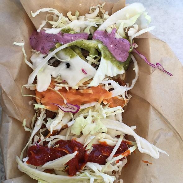 3 Tacos Platter @ Tako Korean Bbq