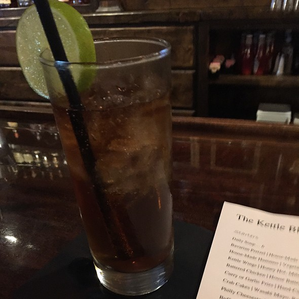 Dark and Stormy @ The Kettle Black