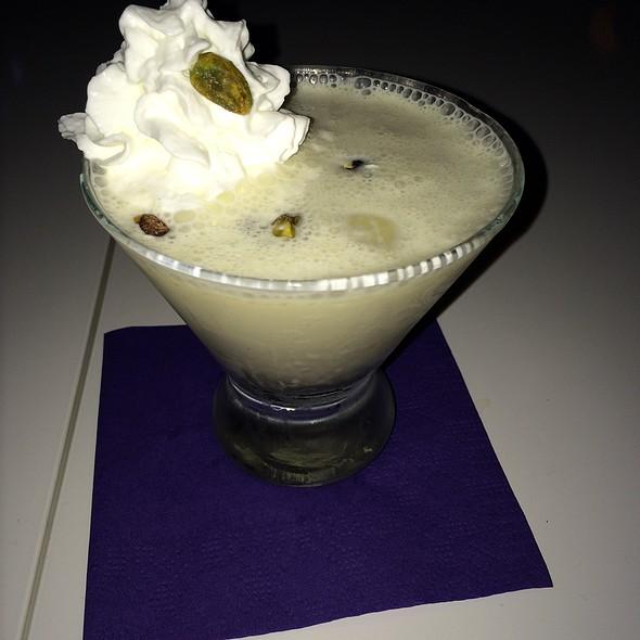 Pistachio Honey Martini