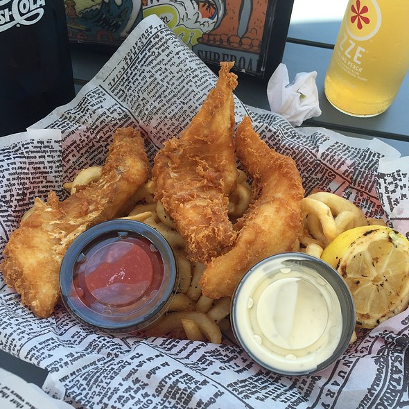 Fish & Chips @ Wooly's