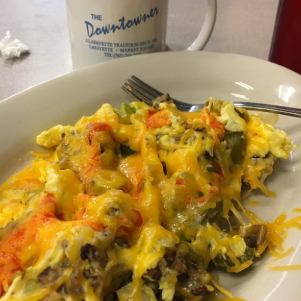 Spicy Egg Scrambler @ Downtowner