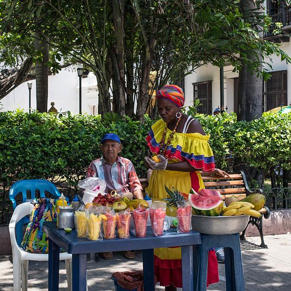 Fruit Salad @ Streetfood Colombia
