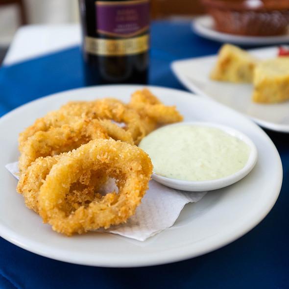 Fried Calamari @ Paella de la Candelaria