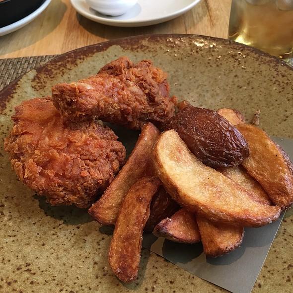 fried chicken @ Husk Restaurant