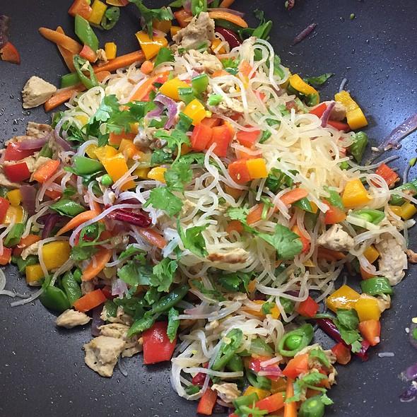 Homemade Pancit ( Filipino Noodles)