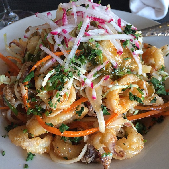 Sweet And Spicy Calamari @ The Grill at Hacienda Del Sol