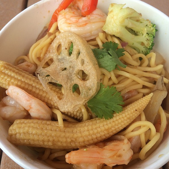 Pan Asian Noodle With Shrimp