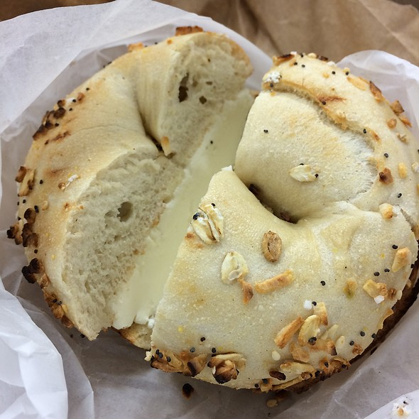 Everything Bagel @ This Is It Bakery & Deli