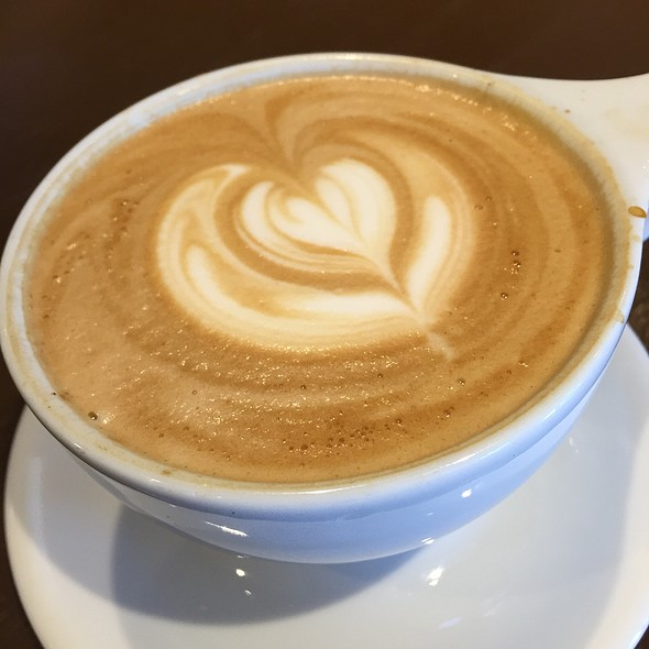 Latte @ Red Berry Coffee Bar
