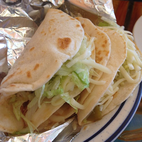 Chicken Soft Tacos @ Adelaida's Mexican Grill