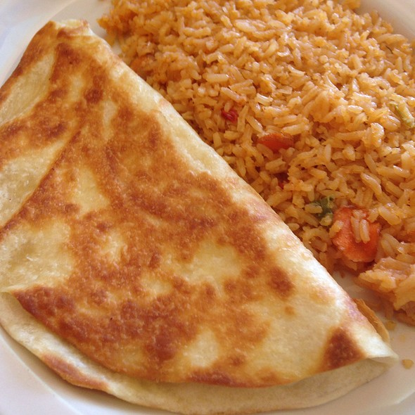 Cheese Quesadilla @ Adelaida's Mexican Grill