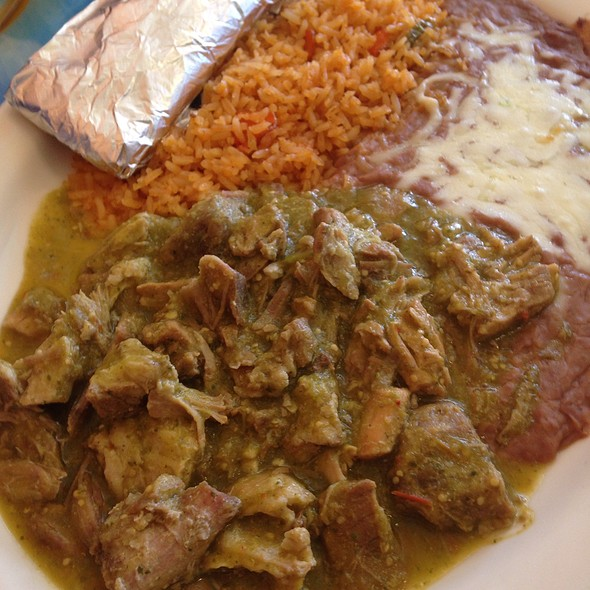 chile verde @ Adelaida's Mexican Grill