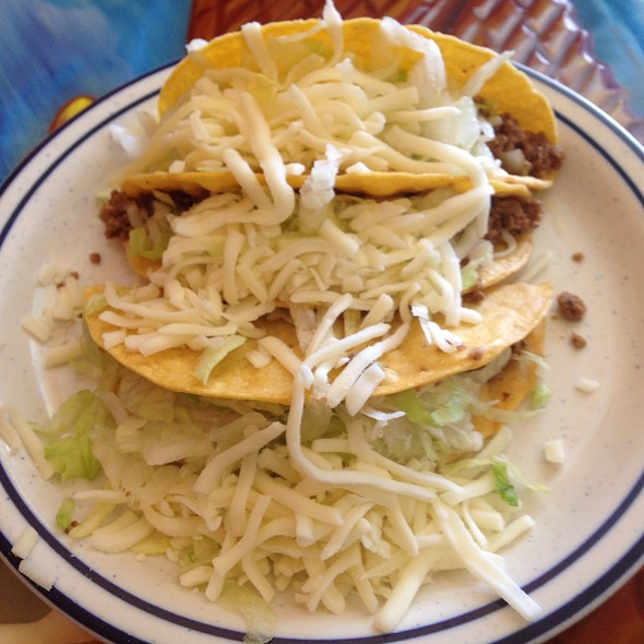 Crispy Beef Tacos @ Adelaida's Mexican Grill