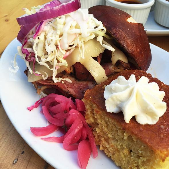 Pastrami Sandwich - Chicago q, Chicago, IL