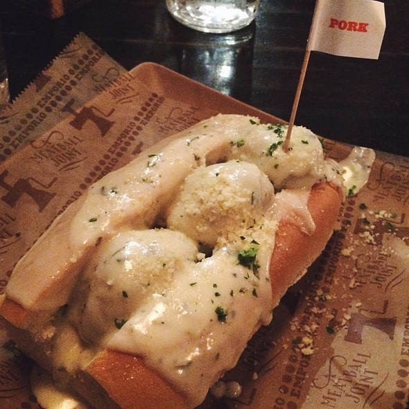 Meatball Grinder Sandwich @ Sienna Mercato