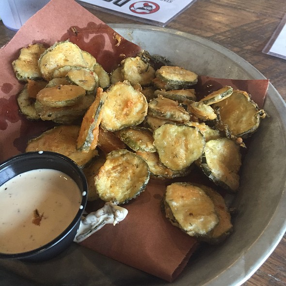 Fried Pickles @ Doc's Smokehouse & Craft Bar