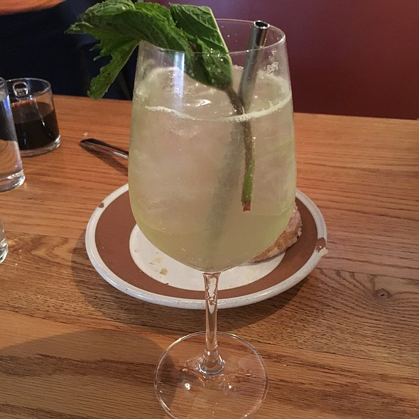 White Wine Spritzer  - Salt's Cure Los Angeles, West Hollywood, CA