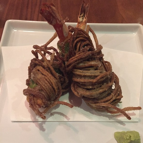 Crispy Soba Shrimp Tempura - Wasan East Village, New York, NY