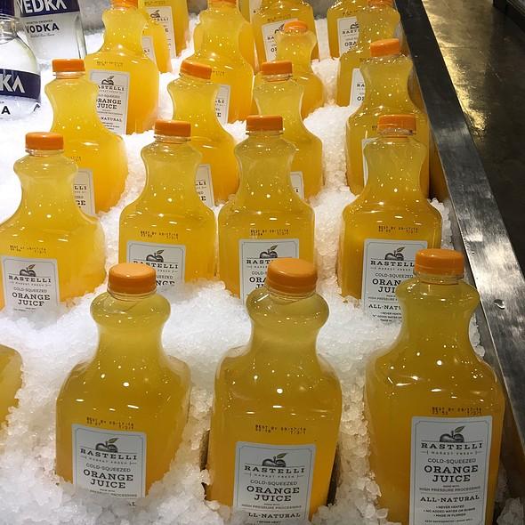 Cold Squeezed Orange Juice