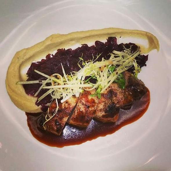 Grilled Pork Tenderloin - Pistache French Bistro, West Palm Beach, FL
