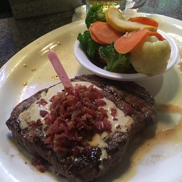 Applewood Bacon Ribeye @ Montana Mike's Steakhouse