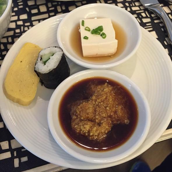 Japanese Sushi With Fresh Wasabi