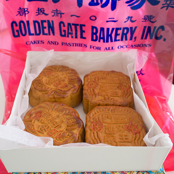Mooncakes 月餅 @ Golden Gate Bakery