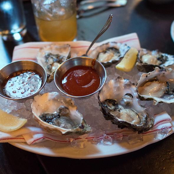 raw oysters @ The Cavalier