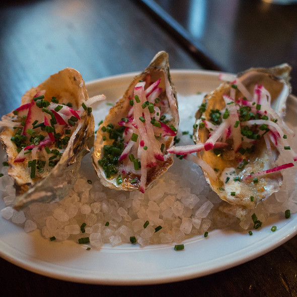 Baked Oysters @ The Cavalier