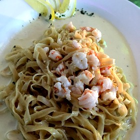 Tagaliolini With Lemon And Shrimp - Sfixio, Beverly Hills, CA